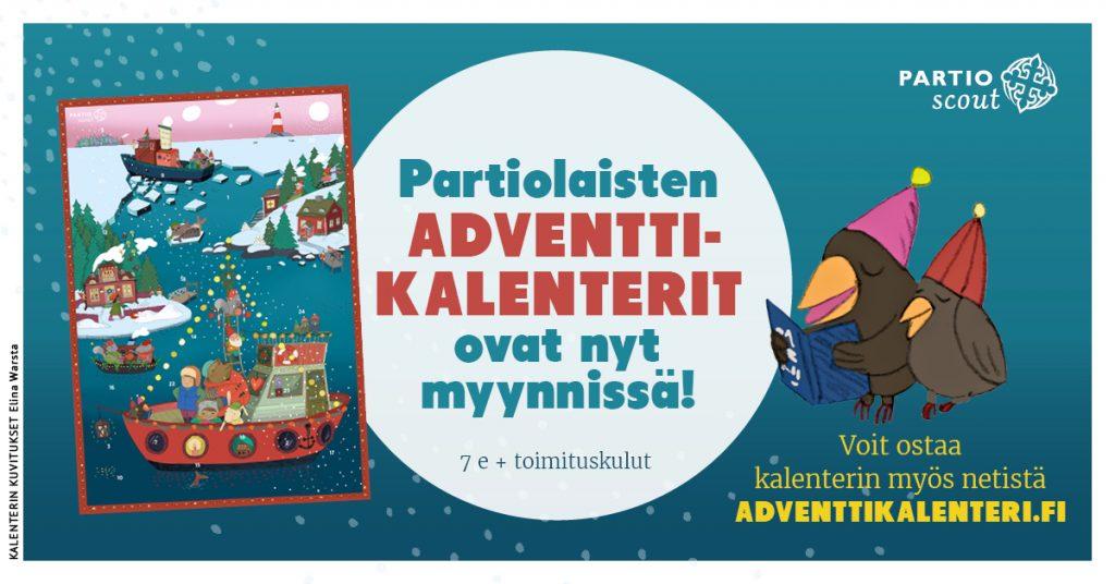 Adventtikalenterien myynti Etelä-Karjalassa